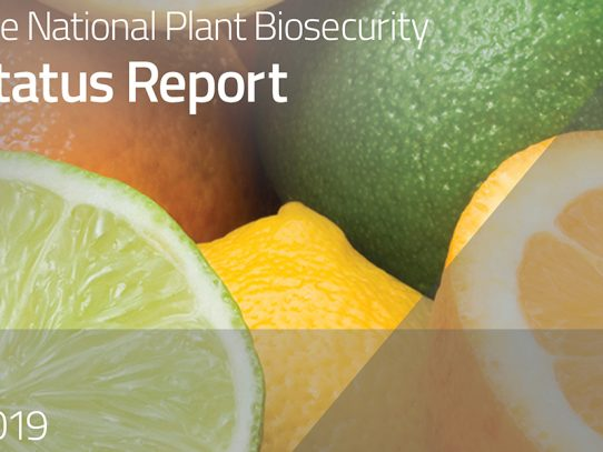 The state of plant biosecurity in Australia